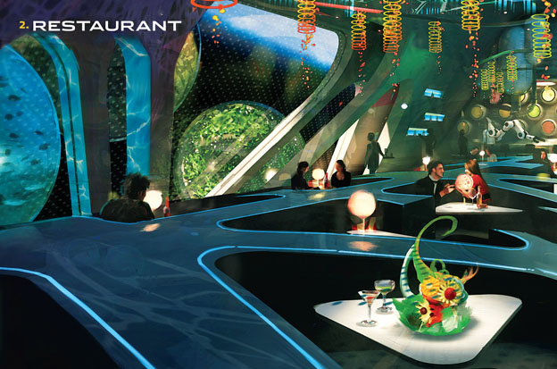 Playboy Club Space Station Restaurant