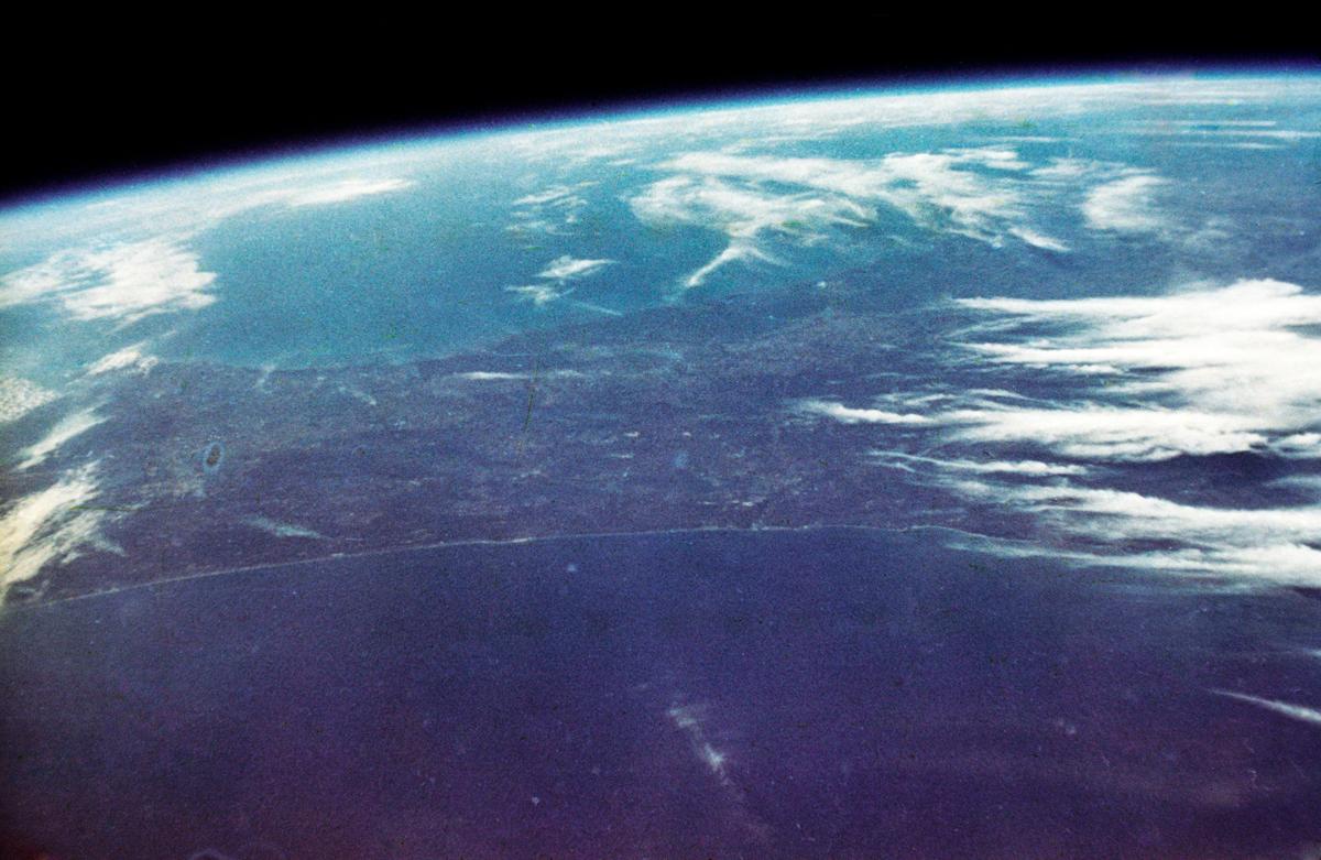 John Glenn's Orbital View