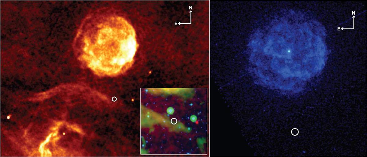 Pulsar PSR J1841-0500