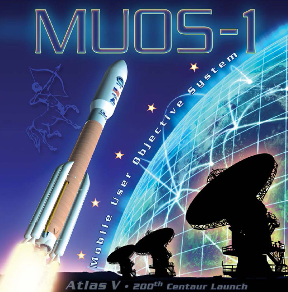 U.S. Navy's MUOS-1 Mission