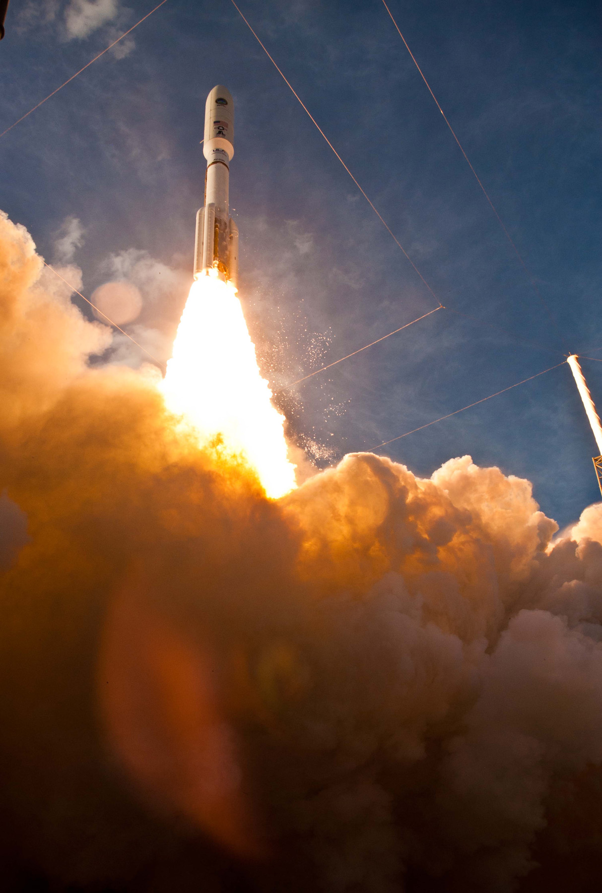 MUOS-1 Satellite Launches on Atlas 5 Rocket