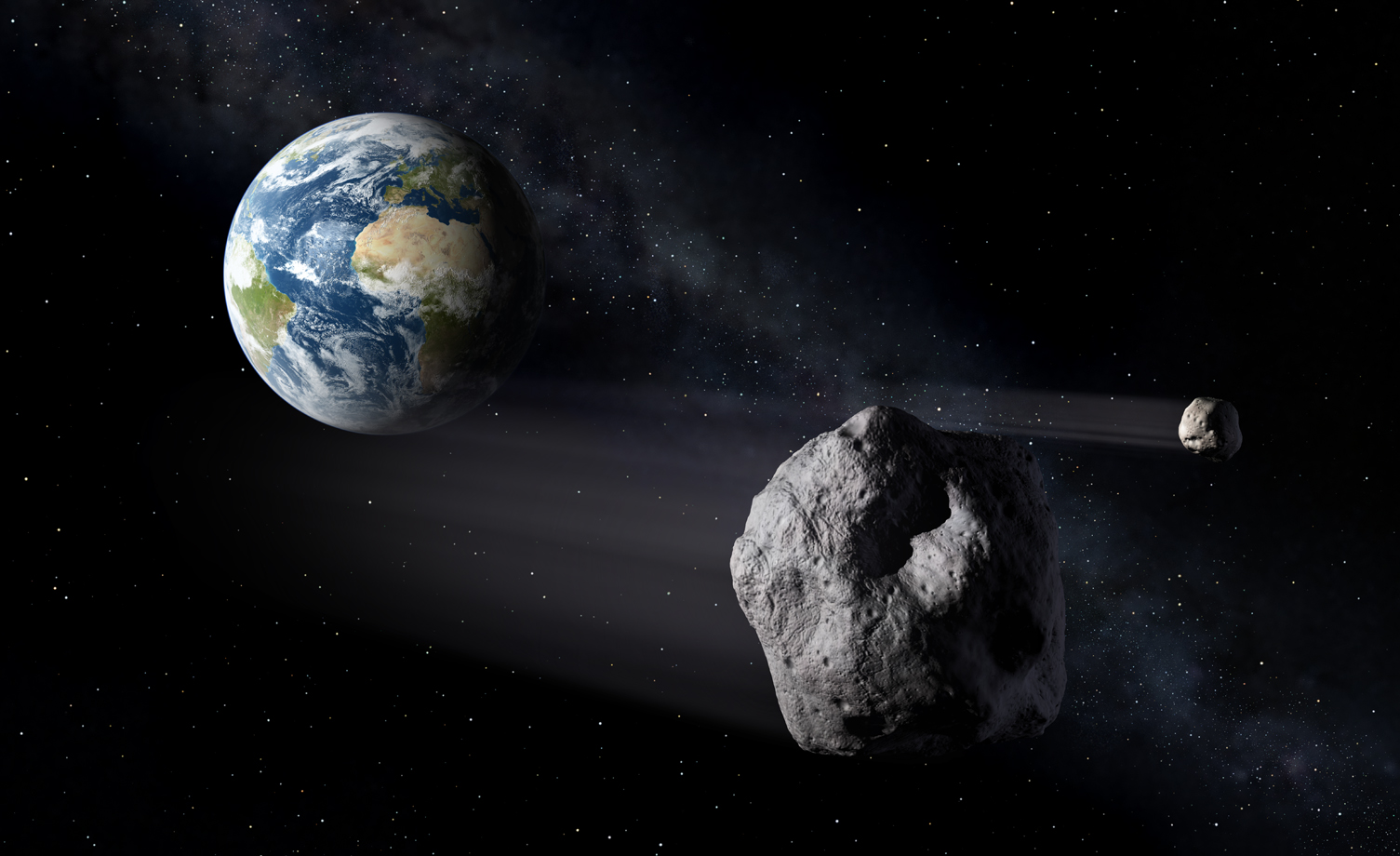 Another Asteroid-Strike Danger: Thrill-Seeking Rubberneckers?