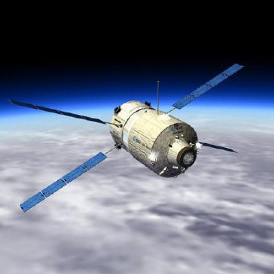 European Cargo Ship to Dock at Space Station Today