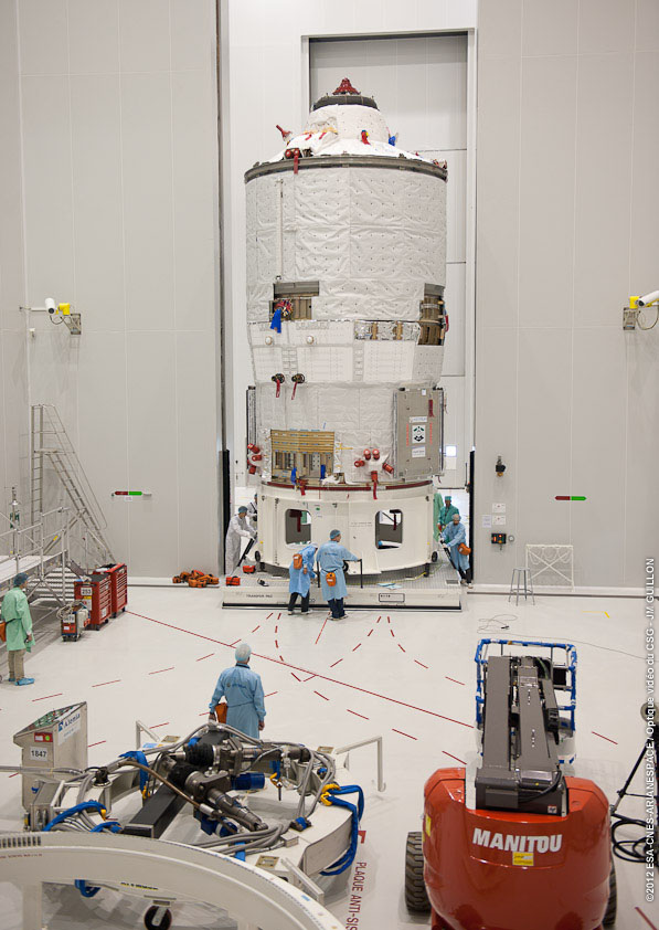 Space Luggage Glitch Delays Launch of European Robotic Spaceship