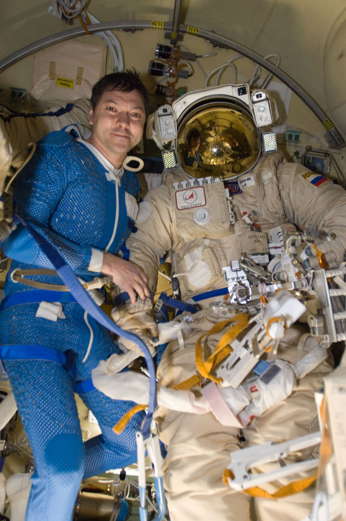 Cosmonauts Vote From Space for Russia's Presidential Election