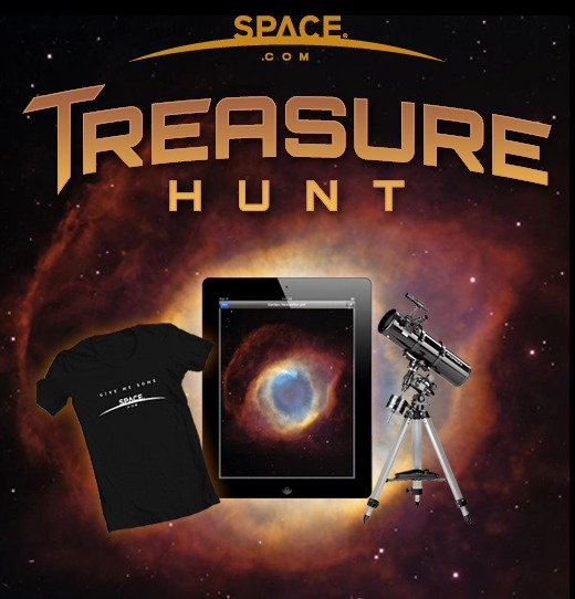 Enter SPACE.com's Treasure Hunt to Win a Telescope