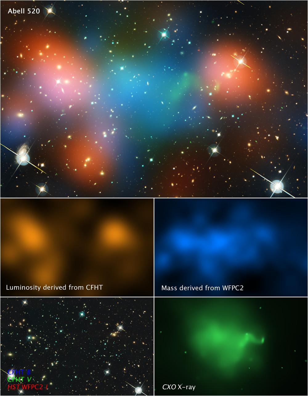 Strange Lump of Dark Matter Shouldn't Exist, But Does