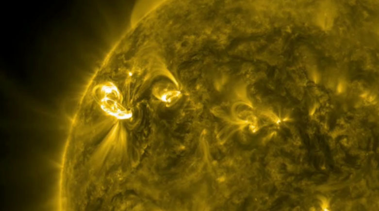 Sun Erupts With Major Solar Flare