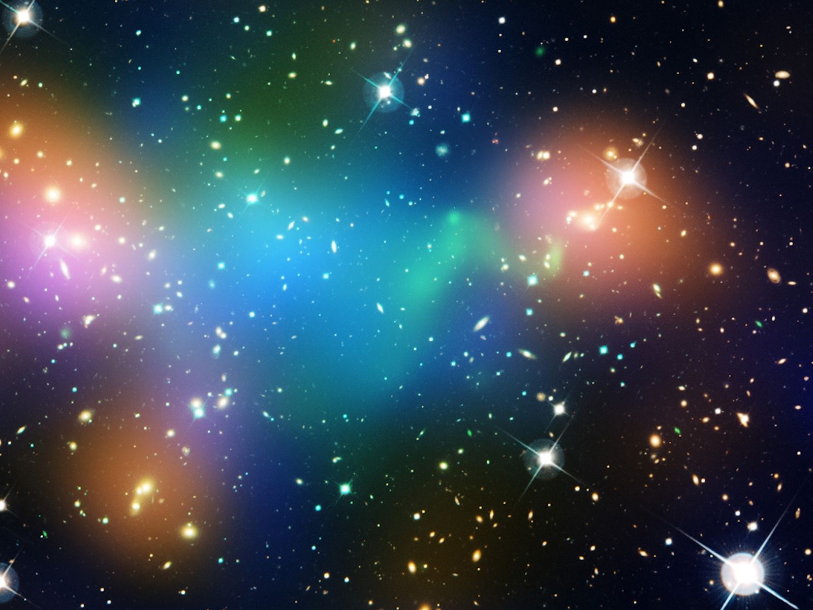 Dark Matter Core Defies Explanation in Hubble Image