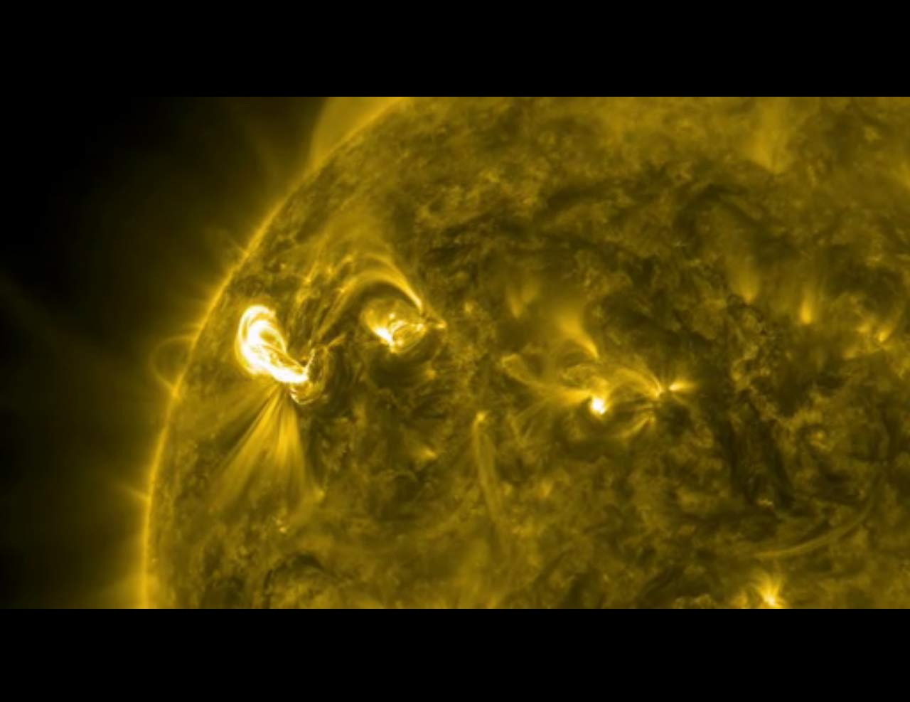 Radiation Blast from Big Solar Flare May Threaten Satellites