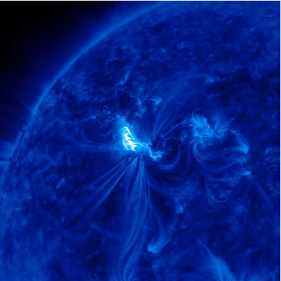 Huge X5.4-class Solar Flare