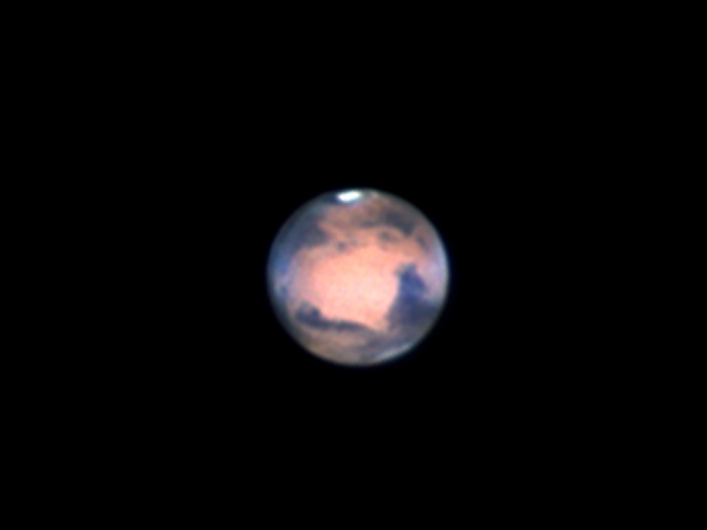 Mars Seen from Mississauga, Ontario