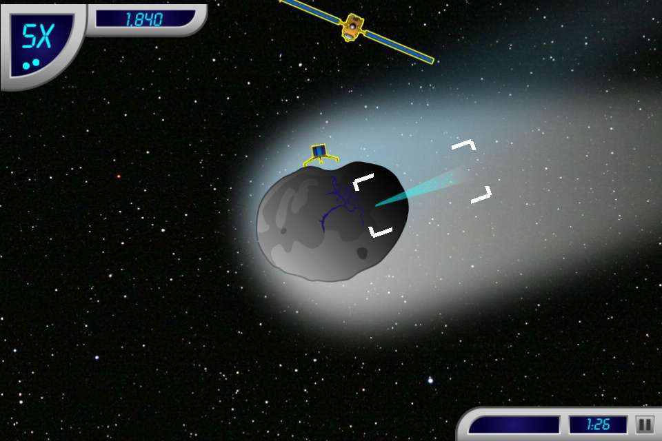 NASA Launches Comet-Hunting iPhone Game
