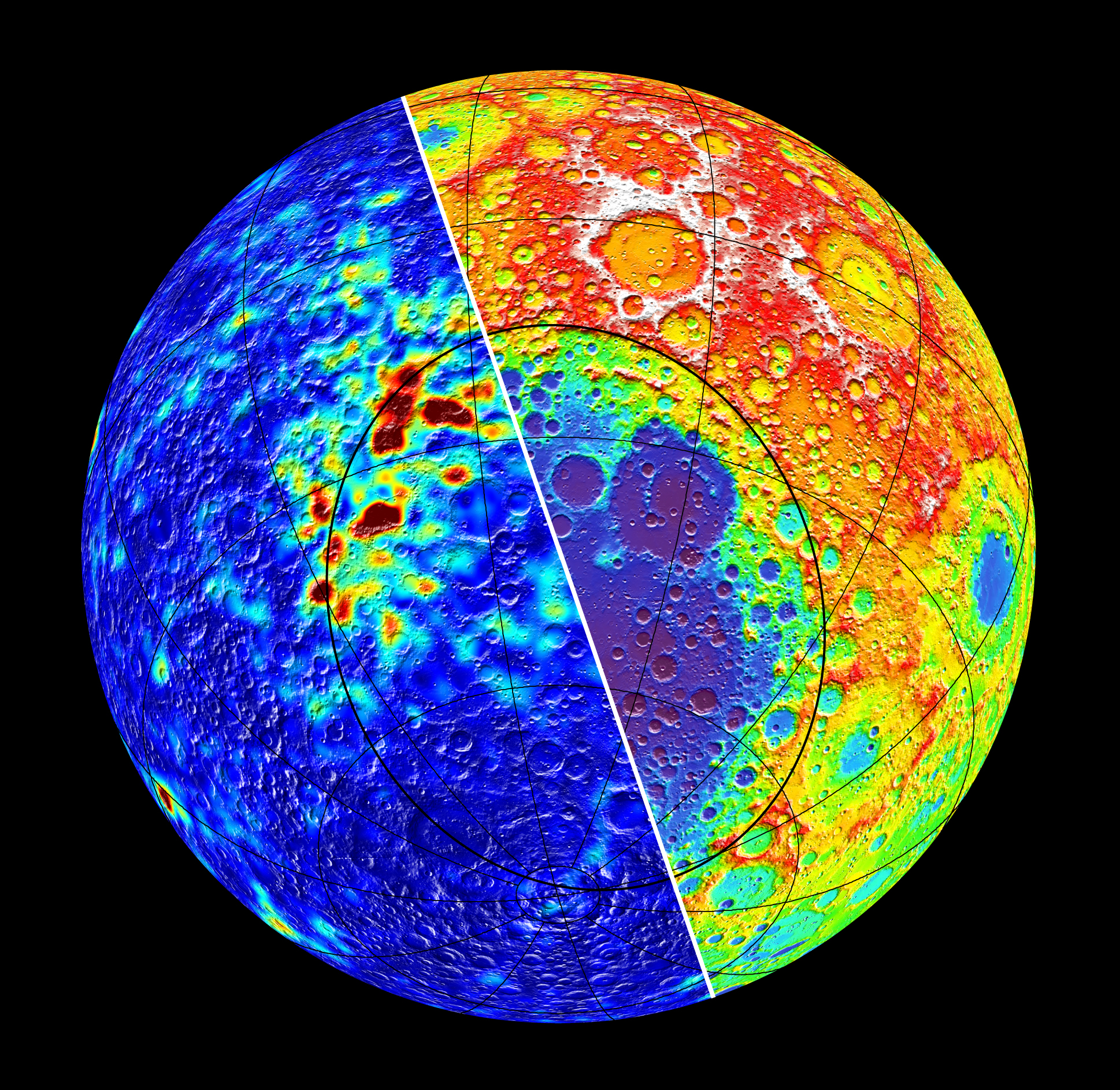 Huge Asteroid Impact Linked to Moon's Magnetic Hotspots