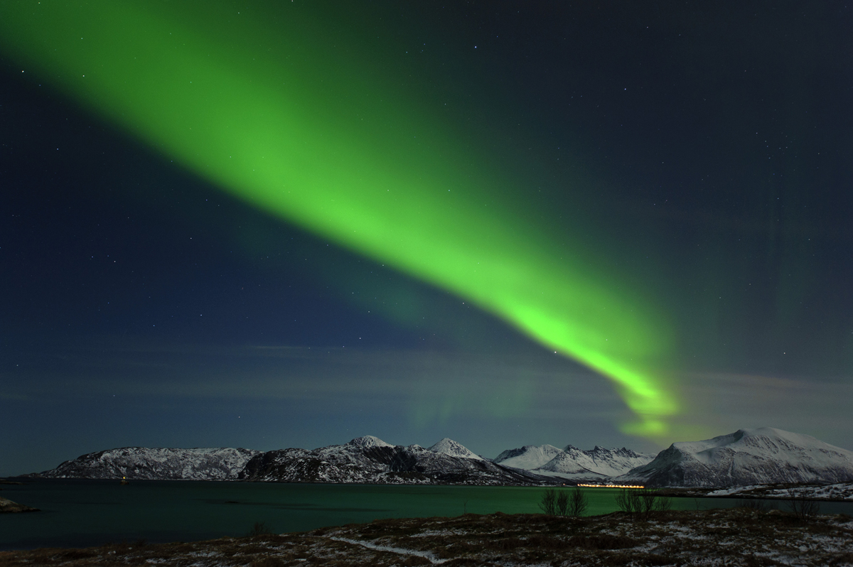Aurora over Tromso, Norway