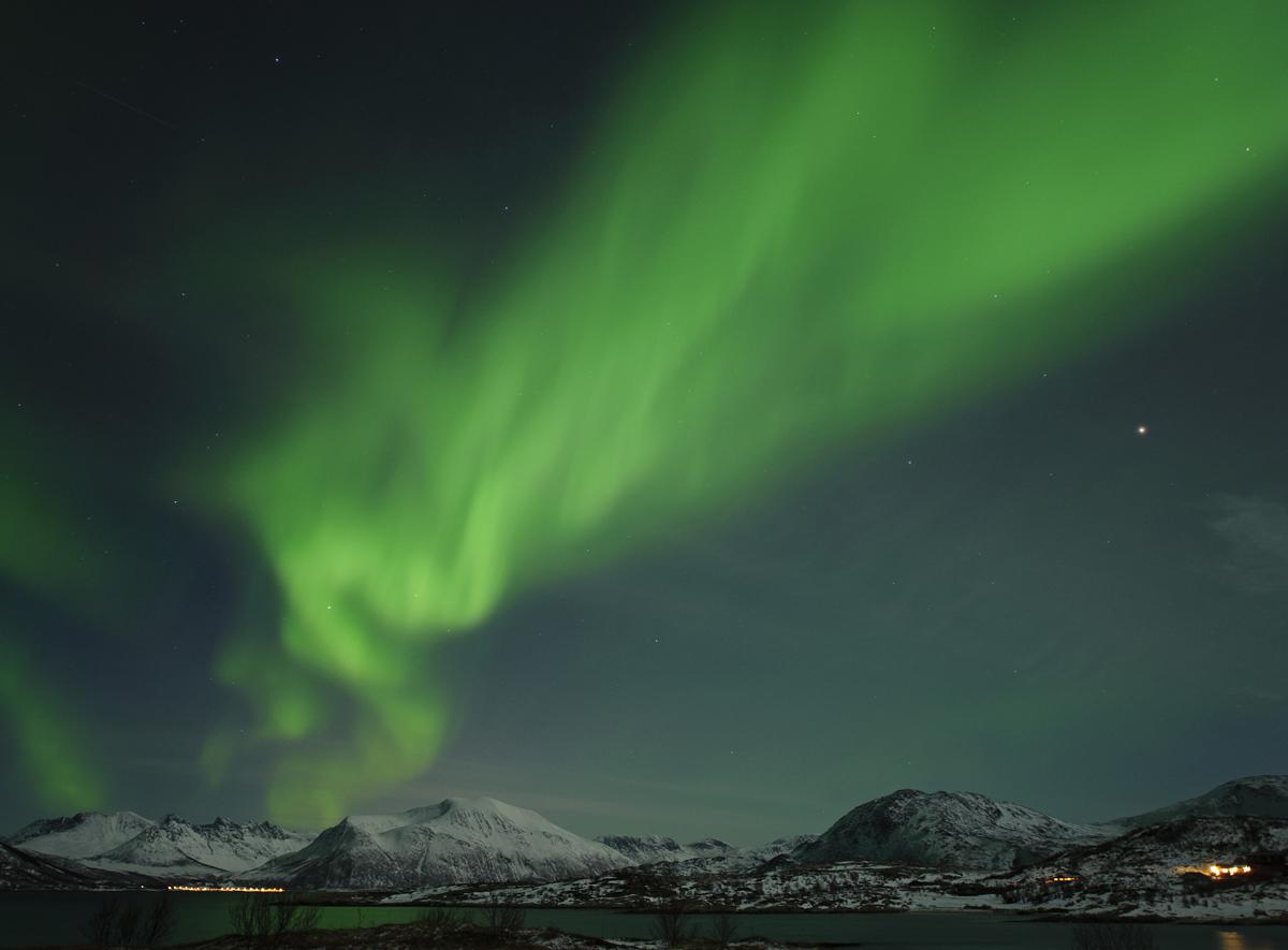 Aurora over Tromso, Norway #2