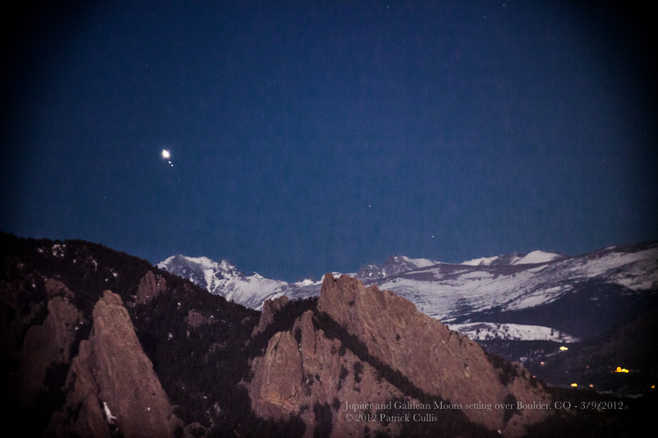 Jupiter, Venus Dance Above Colorado Peaks in Stunning Skywatcher Video