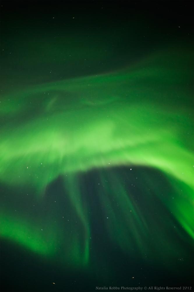 Aurora over Ivalo, Finland