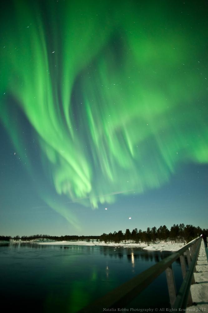 Aurora over Ivalo, Finland #3
