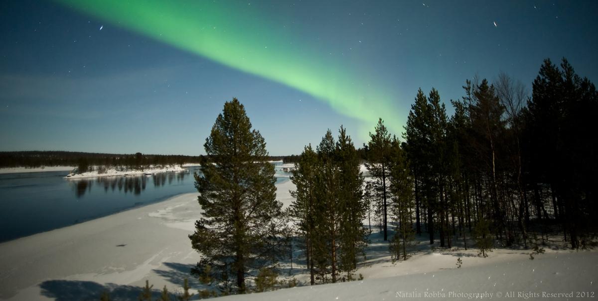Aurora over Ivalo, Finland #4