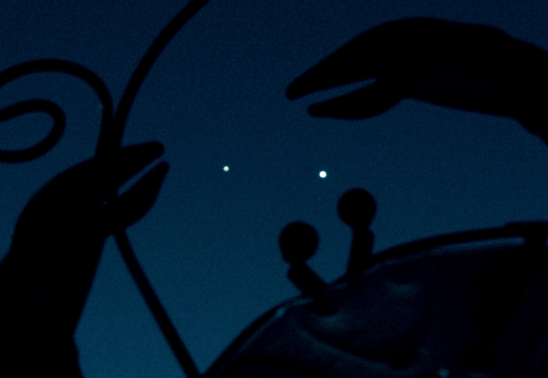 Jupiter and Venus in the Crab's Claws