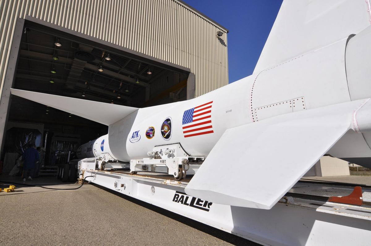 NuSTAR with Pegasus Rocket