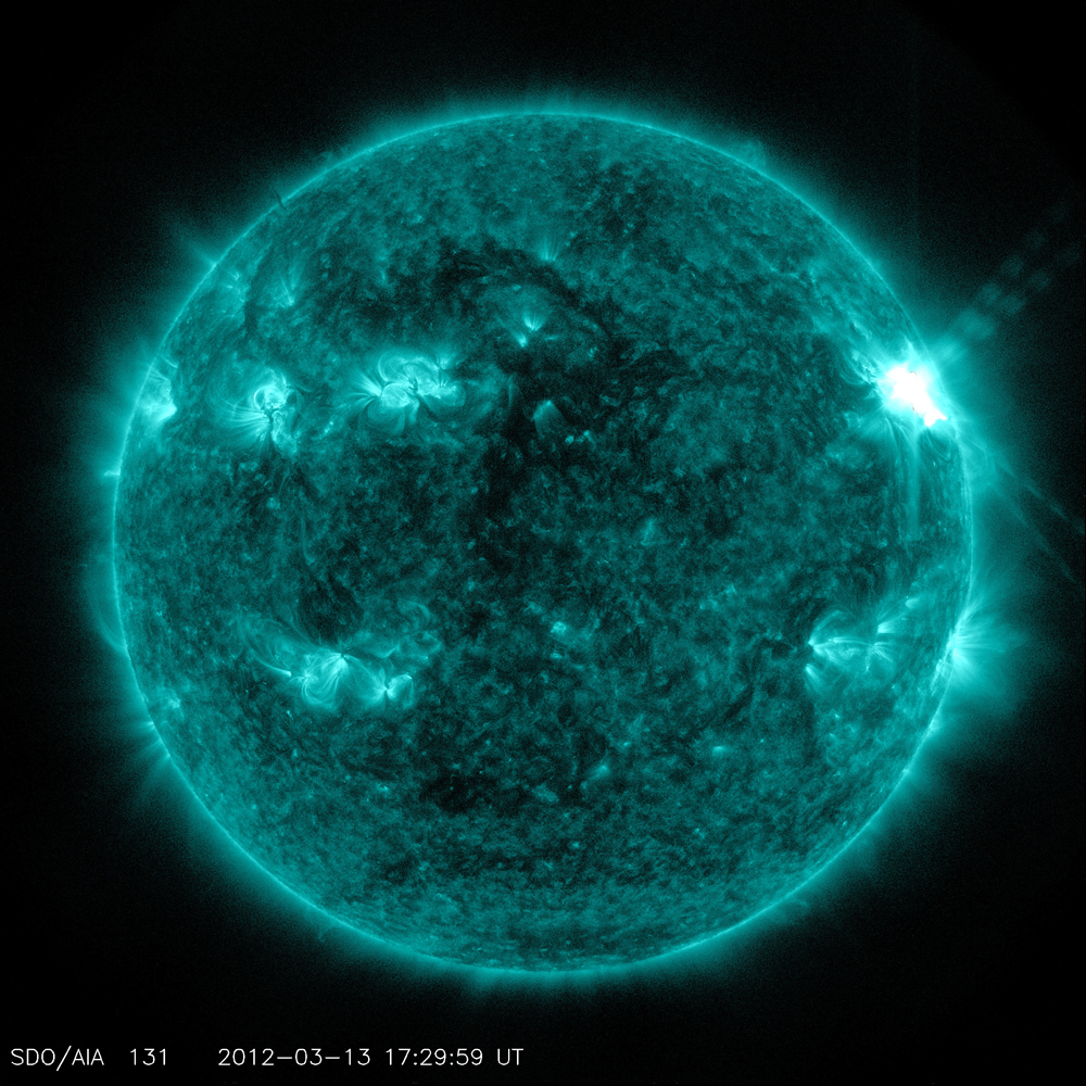 Busy Sunspot Unleashes Another Strong Solar Flare