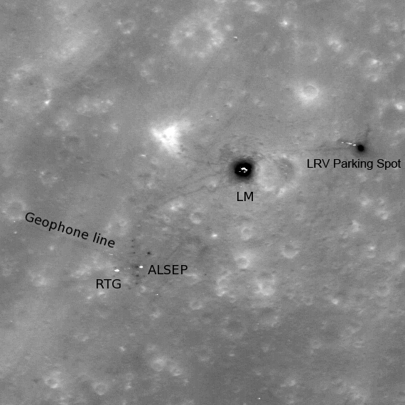 Apollo 16: Footsteps in Sunlight
