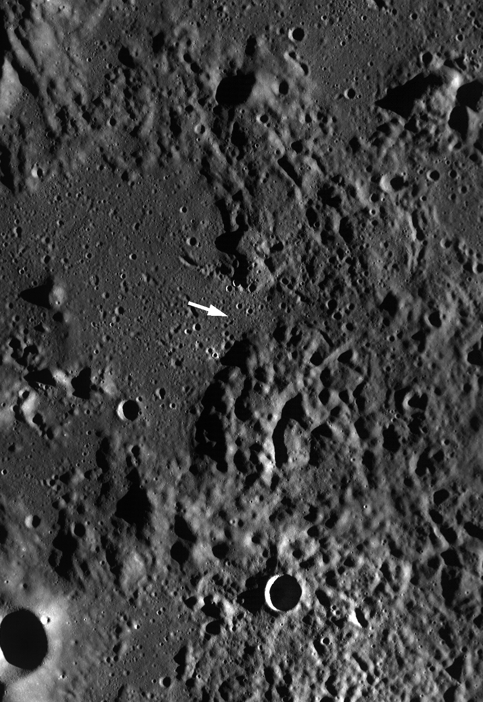 Apollo 16: Arrow Points the Way