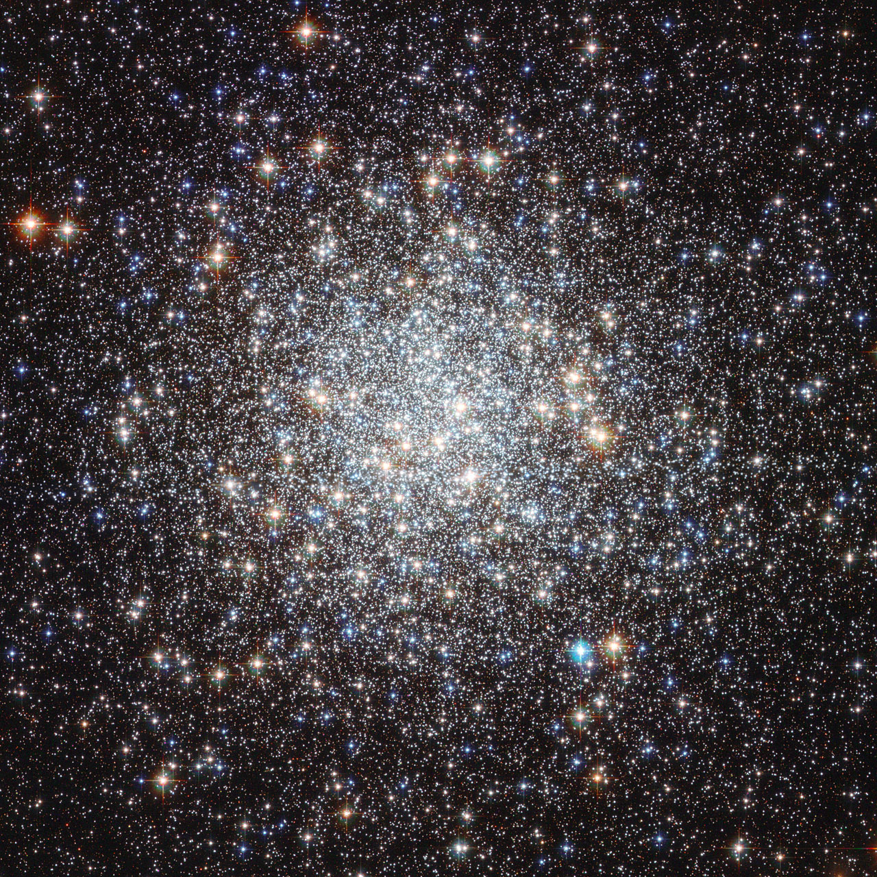 star clusters hubble -#main