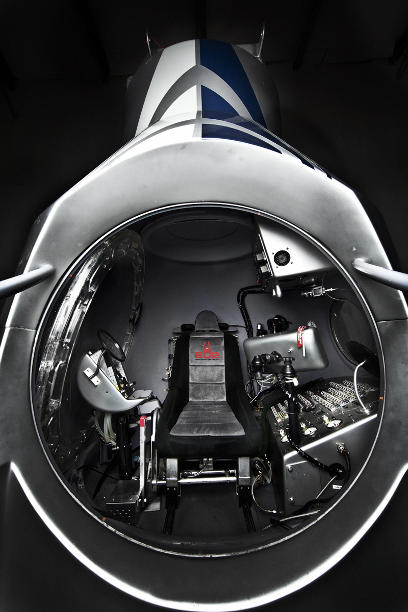 Red Bull Stratos Capsule Full View