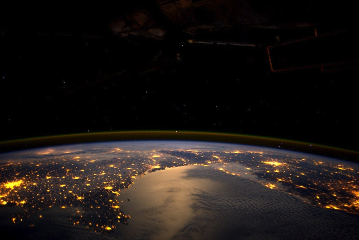 Europe Seen by André Kuipers Onboard the ISS