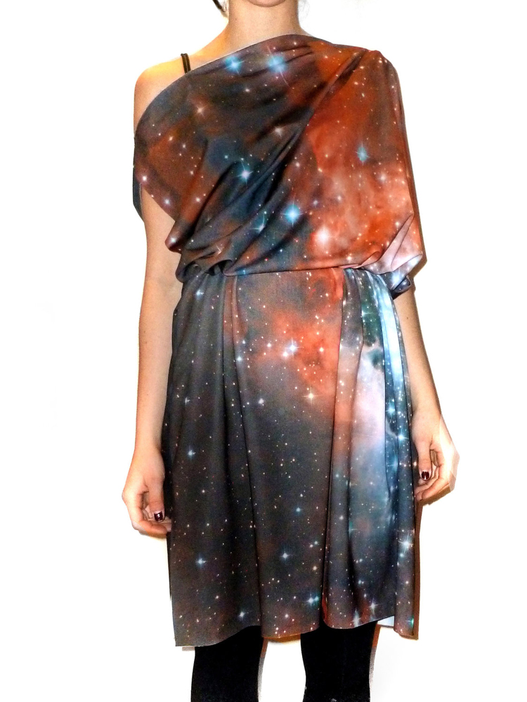 New Fashion Line Puts Hubble Space Photos on the Catwalk