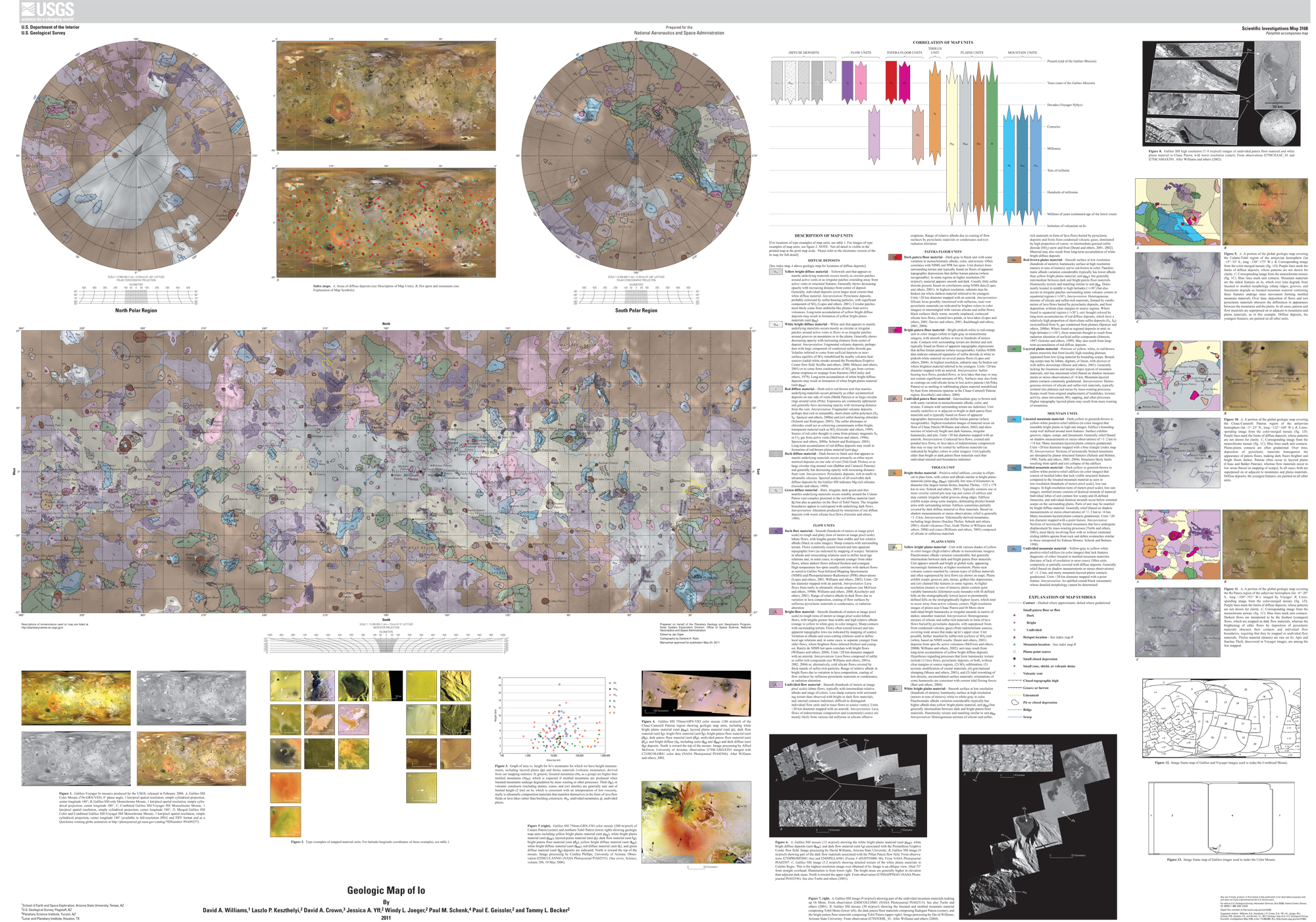 First-Ever Global Geologic Map of Jupiter's Moon Io