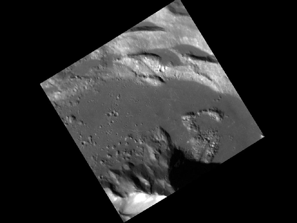 Complex Crater on Mercury