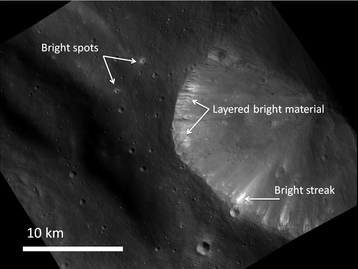 New Photos of Asteroid Vesta Reveal Surprisingly Bright Spots