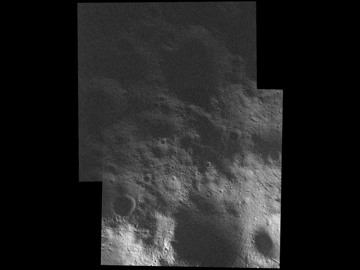 Northern Shadow on Asteroid Vesta