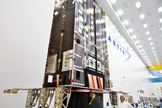A GPS 3 Non-Flight Satellite Testbed  – a full-size, flight-equivalent prototype of a GPS 3 satellite – is being used to identify and solve development issues prior to integration and test of the first spacecraft.