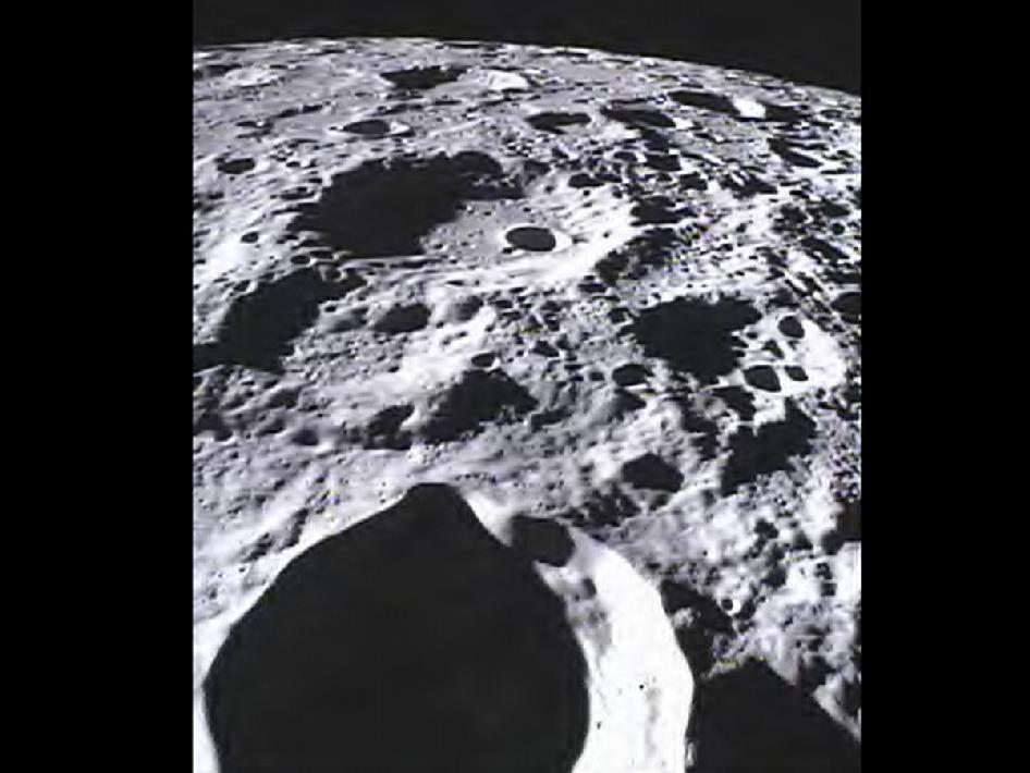 MoonKAM Project - Far Side of Lunar Surface