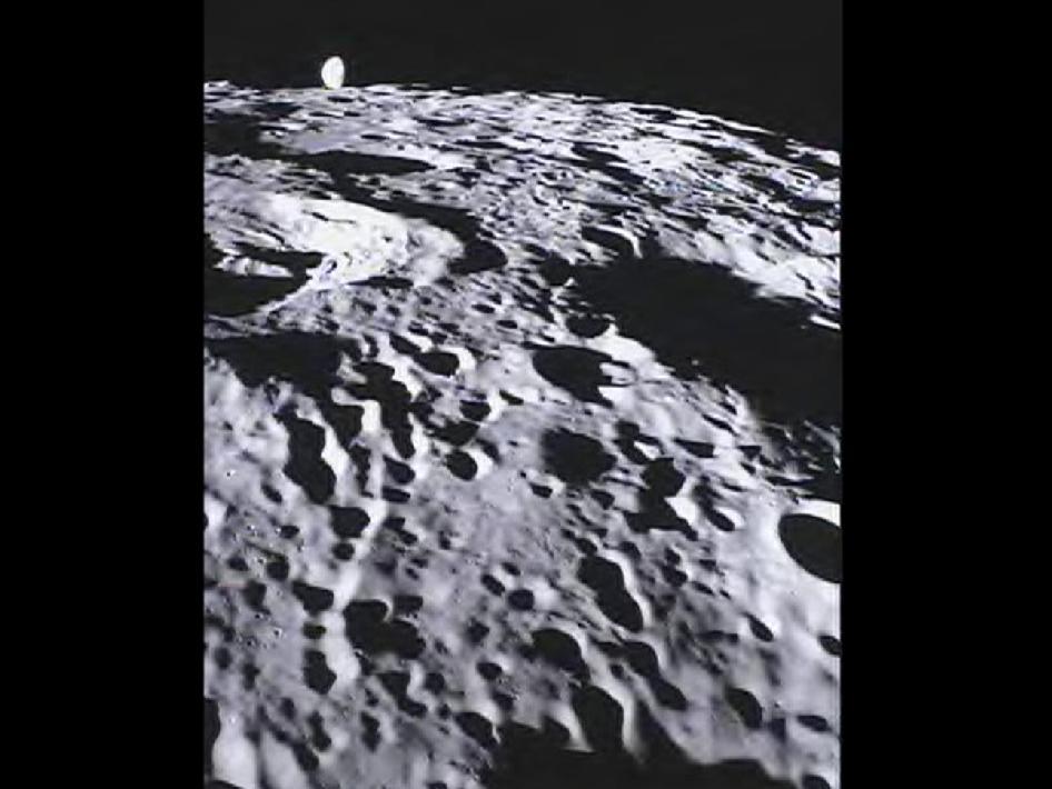 NASA Probe Snaps New Moon Photos for Students on Earth
