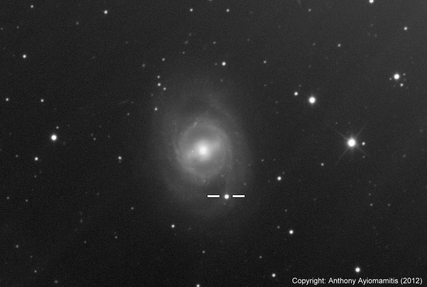 Source Star of New Supernova Explosion May Be Found