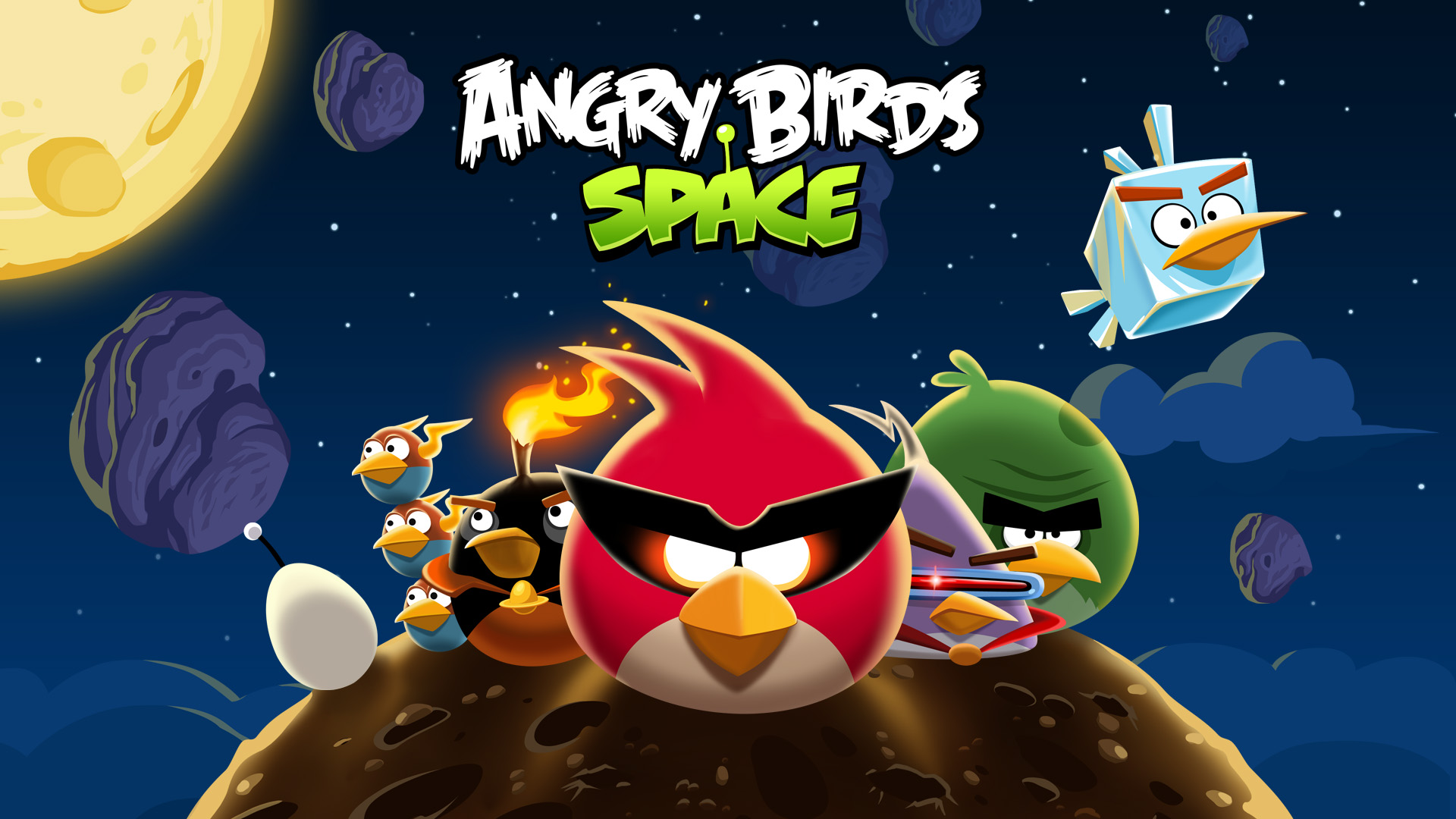 'Angry Birds Space' Launches Game into Orbit
