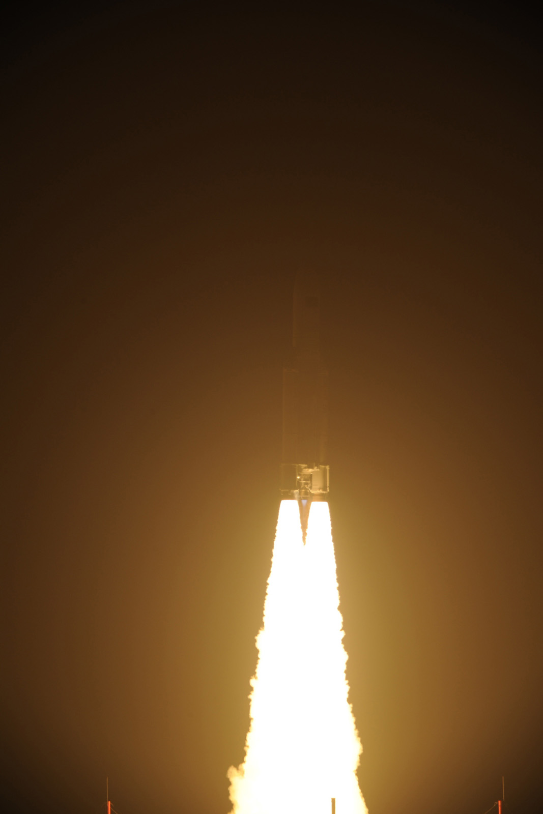 ATV-3 Cargo Ship Lights Up Sky in March 23, 2012 Launch