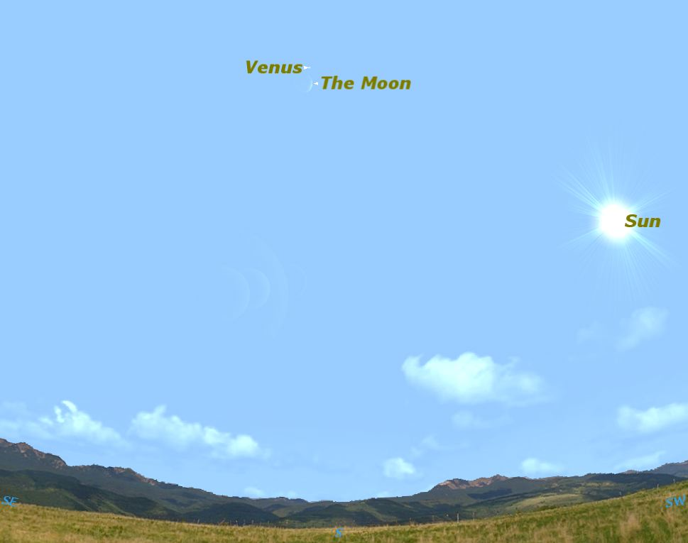 Planet Venus Visible in Daytime Sky Today: How to See It
