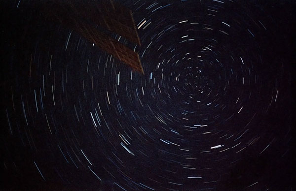 Star Trails Seen from the ISS #1