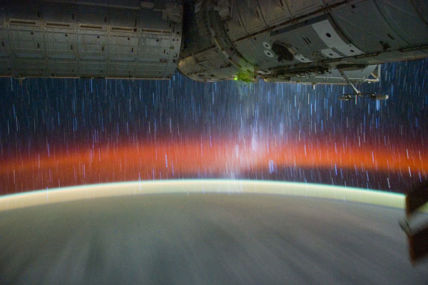 Spectacular Video Captures Views of Star Trails from Space