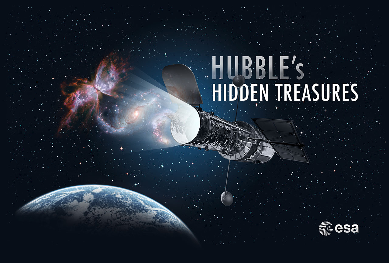 Hubble Telescope Contest Challenges Public to Find Celestial Treasures