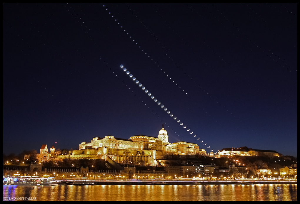 Skywatcher Snaps Stunning Celestial Trio Over Budapest Castle