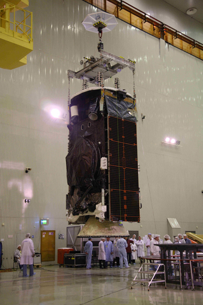 Intelsat 22 Prepared for Launch