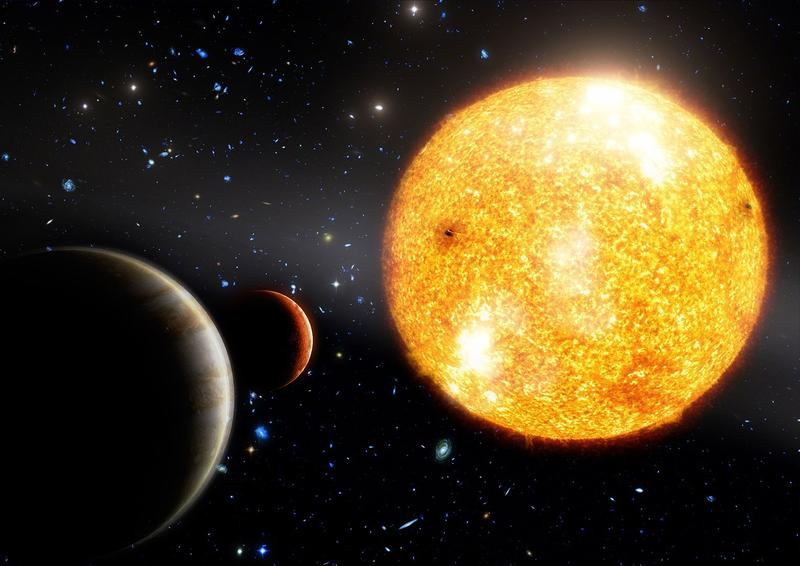 9-Planet Alien Solar System
